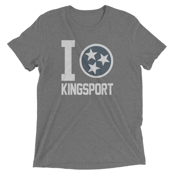 I Tristar, Love, Heart, Kingsport Tennessee Tee, Shirt