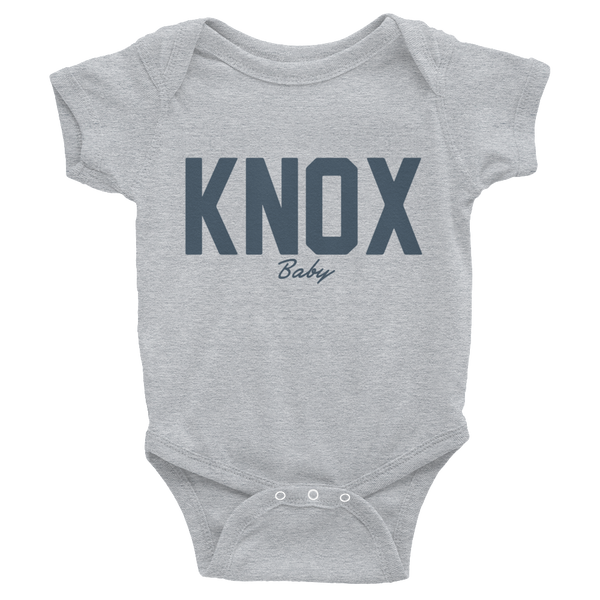 KNOX Baby Onesie, Tennessee, KNoxville, Child Baby