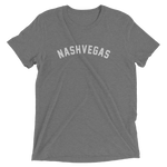 Nashvegas, Nashville, Tennessee Triblend Shirt, Heather