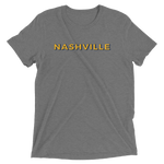 Nashville TRI BLEND Heather Shirt