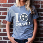 Crossville Love Tee