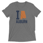 I Love/Heart/State Auburn Alabama, City Tshirt Tee
