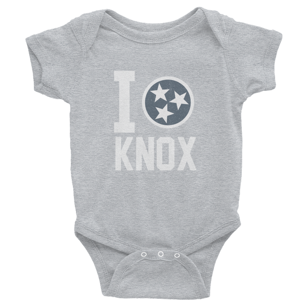 I Tristar, Love, Heart, Knoxville Tennessee Onesies
