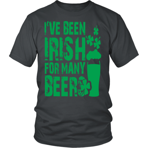 Irish - Ive been irish for so many beers