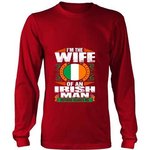 I'm  Irish Man Wife T-shirt