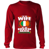 Image of I'm  Irish Man Wife T-shirt