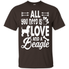 Image of All You Need Is Love And Beagle