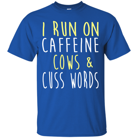 i run on cows and cuss words