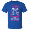Image of Aries Grandma I Have 3 Sides Quiet Sweet Fun Crazy-Shirt