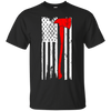 Image of Firefighter Profession USA Flag Pride Tshirt