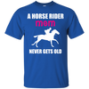 Image of A Horse Rider Mom Never Gets Old Shirt