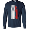 Image of Truck Driver Trucker - America USA Flag T-Shirt
