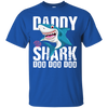 Image of Daddy Shark T Shirt Fathers Day Gifts Family Matching Dad