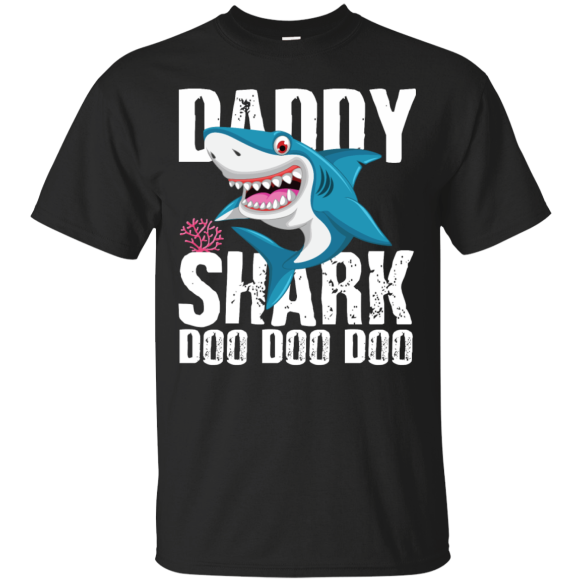 dc06ef7ed Daddy Shark T Shirt Fathers Day Gifts Family Matching Dad - Mila Tees