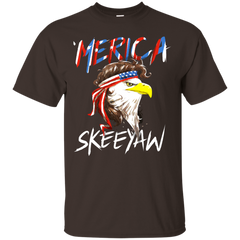 Eagle Mullet Merica American USA 4th of July Freedom T-shirt