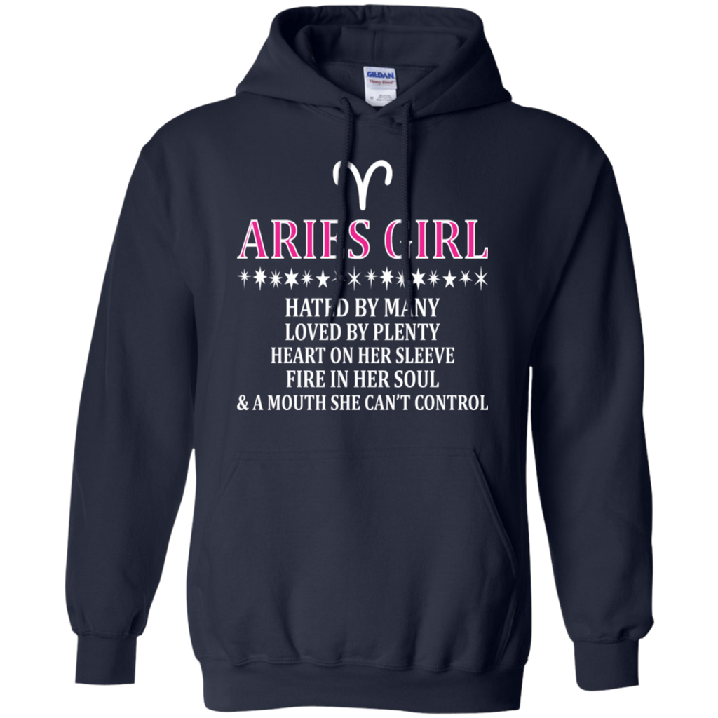 Aries Girl Hated By Many Loved By Plenty Fire Shirt