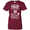 Image of Be Nice To The Cheft, ChefTee Gift T-Shirt