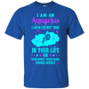 Image of Aquarius Can Be Best Thing In Life Zodiac Funny Shirts