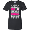 Image of All This Girl Cares About Is Cows Funny Shirt