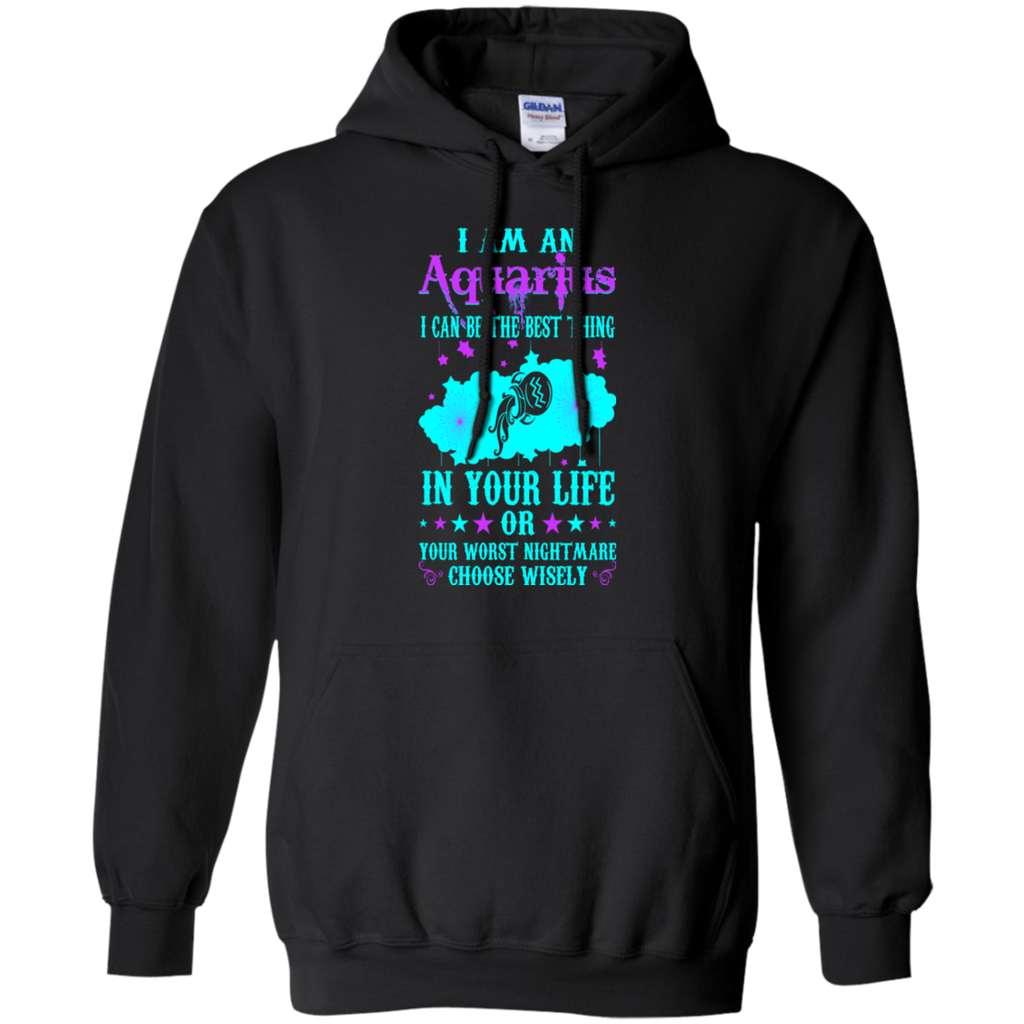 Aquarius Can Be Best Thing In Life Zodiac Funny Shirts