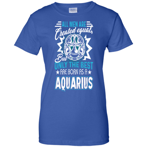 All men are created equal but only the best are born as a Aquarius