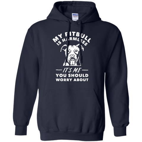 My Pitbull Is Harmless It's Me You Should Worry About T Shirt