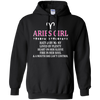 Image of Aries Girl Hated By Many Loved By Plenty Fire Shirt