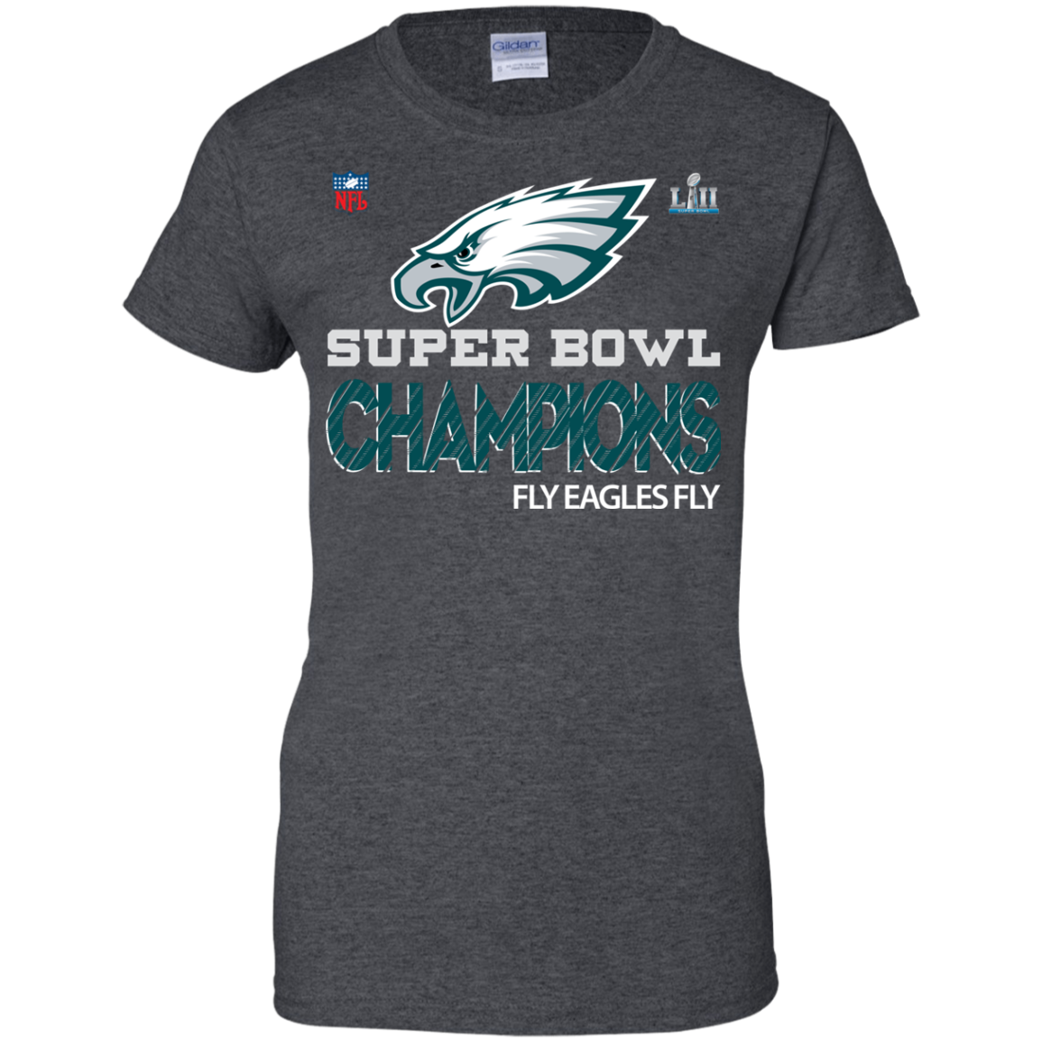 a258578b69f Super Bowl Champions Fly Eagle fly T-shirt - Mila Tees