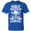 Image of Being A Chef Is Esyn It's Like Riding A Bike, ChefTee Gift T-Shirt