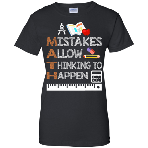 A Mistakes allow thinking to happen-Shirt