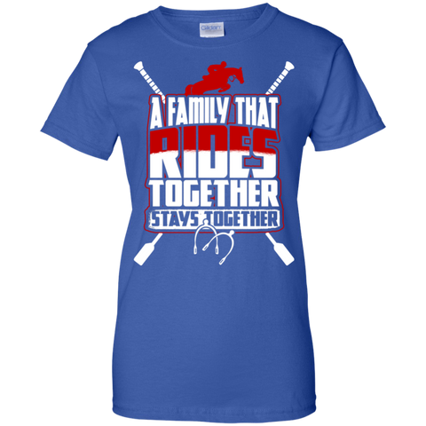 A Family That Rides Together Stays Together Shirt