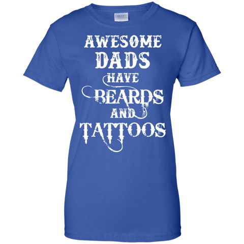 awesome-dads-have-beards-tattoos-gift-for-dad