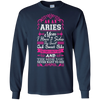 Image of Aries Mom I Have 3 Sides Quiet Sweet Fun Crazy-Shirt