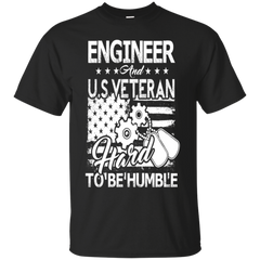Engineer And US Veteran Shirts