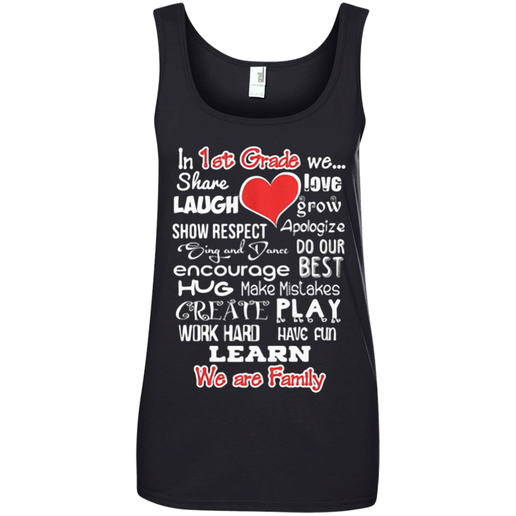 1st Grade WE ARE FAMILY Teacher Gift Shirt