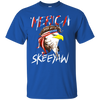 Image of Eagle Mullet Merica American USA 4th of July Freedom T-shirt