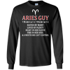 Image of Aries Guy Hated By Many Loved By Plenty Fire Shirt