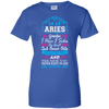 Image of Aries Grandpa I Have 3 Sides Quiet Sweet Fun Crazy Shirt