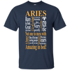 Aries Amazing In Bed Romantic Pretty Zodiac Tshirt