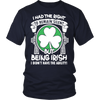 Image of I had the right to remain silent but being irish i didn't have the ability