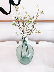 White Flower Stem