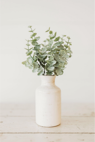 White Bottle Vase [Multiple Sizes]