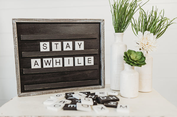 Letter Board [2 colors]