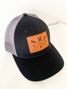 MN Paddle Hat (Black/Charcoal)