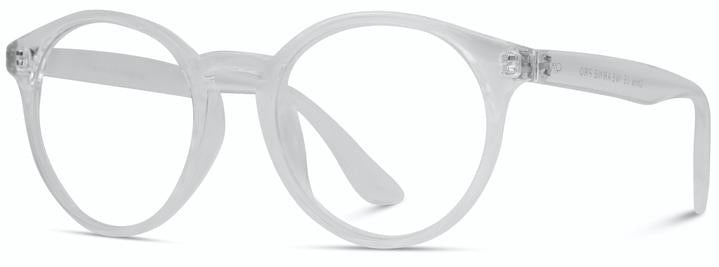 Sadie Retro Clear Frame Blue Light Glasses
