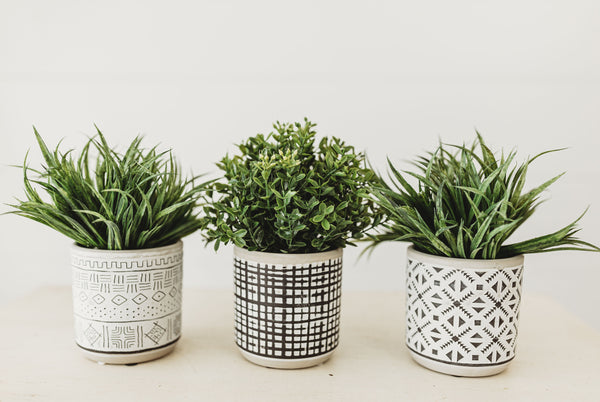 Small Aztec Planters [3 Styles]