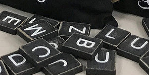 Tile Letters [2 colors]