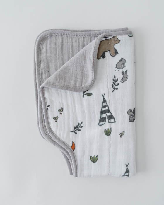 Cotton Muslin Burp Cloth [Multiple Styles]