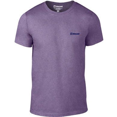 Basic Heather-Purple