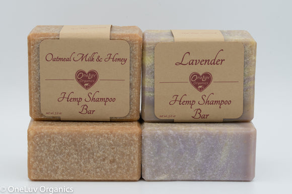Luxury Shampoo Bars